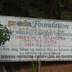 PREDA sign