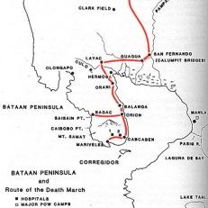 bataan map