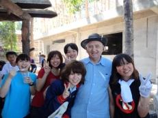 Japanese volunteers at Childrens Home