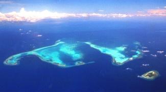 Apo Reef Arial View