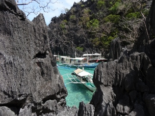 Boat Harbour at Coron Island