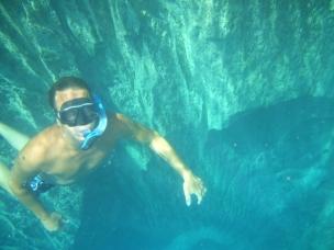 Chris at Barracuda Lake