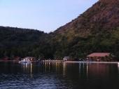 El Rio Y Mar at Dusk