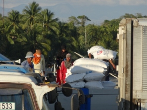 Loading the Rice Barge