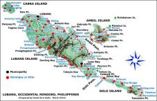 Lubang Island Map