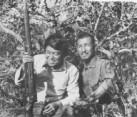 Norio Suzuki with Hiroo Onoda 1974