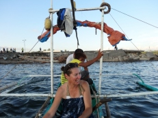 Sitting on the Fishing Nets