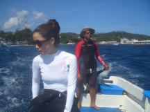 To the Dive Site