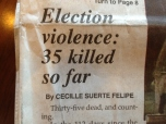 Election Violence