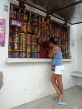 At the sari sari store