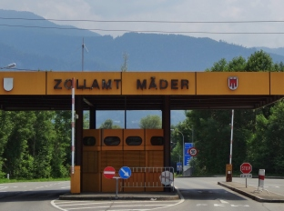 Austrian Border Crossing