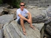 Chris on the Rocks