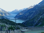 Dams along Grimsel Pass