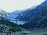 Dams along Grimsel Pass