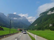 Driving to Wasserauen