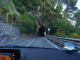 One Lane Tunnel