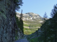 First Glimpse of Grimsel Pass