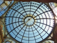 Glass Dome in the Galleria