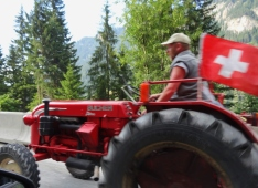 Hard to Pass Slow Moving Tractors in the Mountains