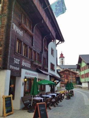 Hotel Zur Sonne in Andermatt