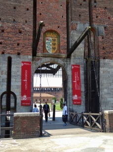 Sforza Castle Entrance