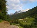 Start of Nufenen Pass