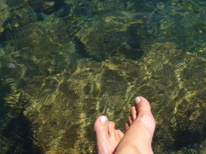 Toes in the Med
