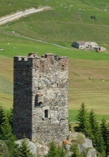 Tower Near Andermatt