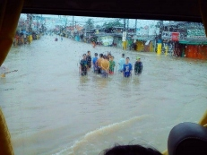 Manila flooding photo by Richard