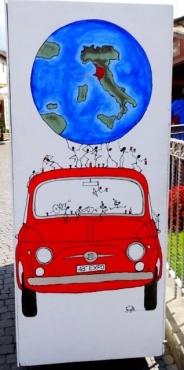 Wine Festival Art
