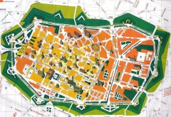 Map of Lucca