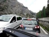 Traffic Jam on Stelvio