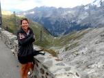 Sandra at Stelvio Pass Summit