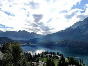 Lake of St. Moritz