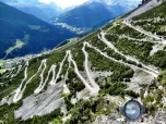 Twisty Road to Fraele Towers and Lago di Cancano