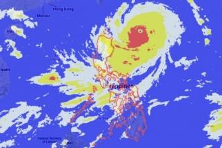 Super Typhoon Odette (source Phil Star)