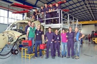 Training at AgustaWestland