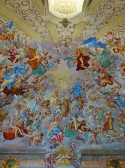 Elaborate Ceiling Frescos