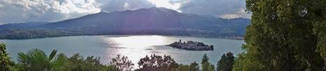 Isola San Giulio Panorama