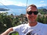 Lago Maggiore in Background