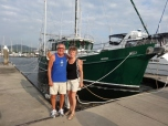 Dave & Merle at the Yacht Club