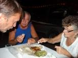 Eating Bibingkas