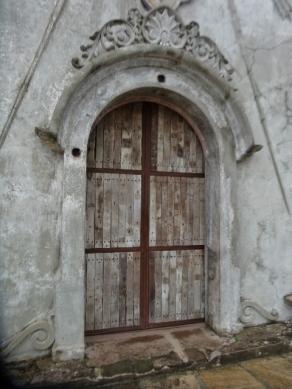 Second Story Window, Now First Floor Door
