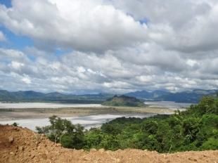 Sto Tomas River Sandflats Upstream