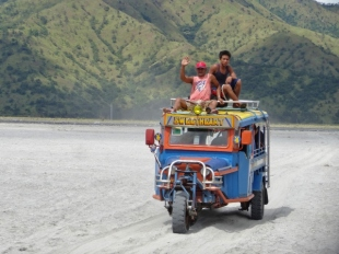 Three Wheeled Jeepney