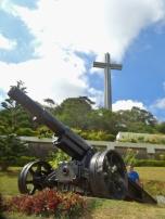 Mt Samat Howitzer