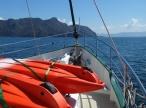 Approaching Sangat Island