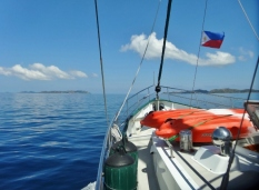 Approaching Tara Island