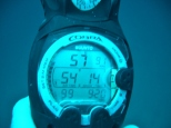 Barracuda Lake, Temperature at Depth