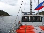 Entering Busuanga Bay